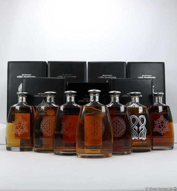 Jim McEwan's Celtic Heartlands Collection (7 x 70cl Bottles)