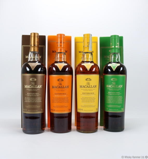 macallan edition 1-4 for sale