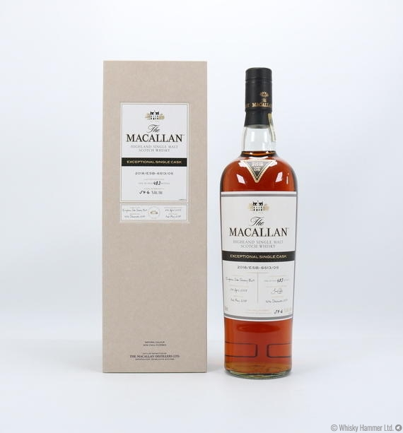 Macallan - 2005 Exceptional Single Cask (#6513-05, 2018) US Import (75cl)
