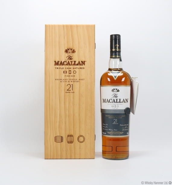 Macallan - 21 Year Old (Fine Oak) US Import