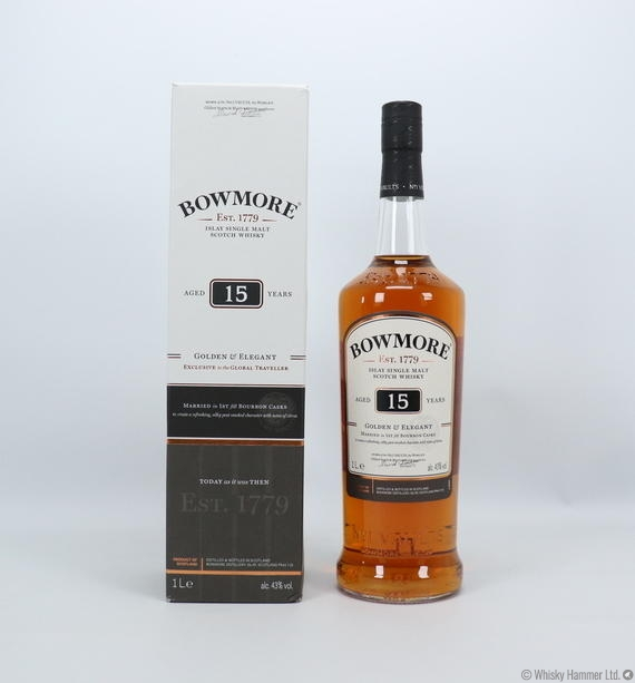 Bowmore - 15 Year Old (Golden & Elegant)