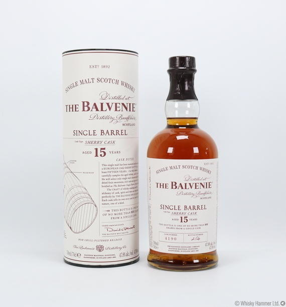 Balvenie 15 Years Old Single Barrel Sherry Cask - World of Fine Spirits