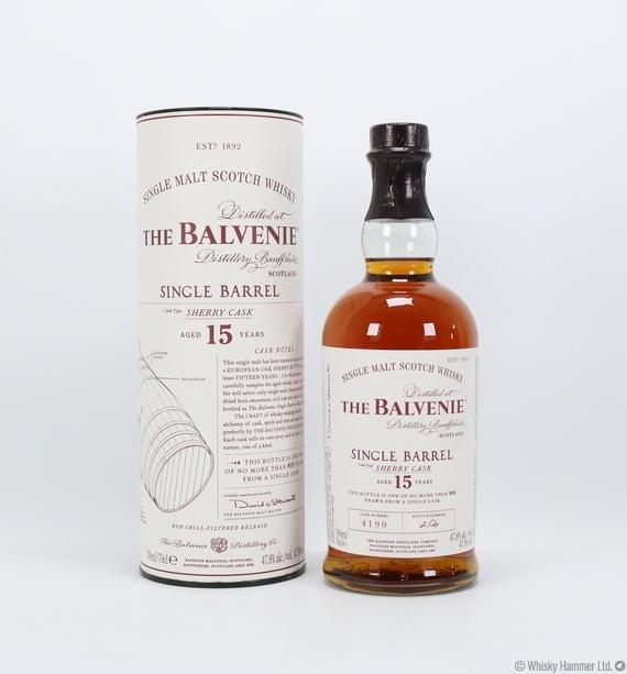 Balvenie 15 Years Old Single Barrel Sherry Cask - World of Fine Spirits