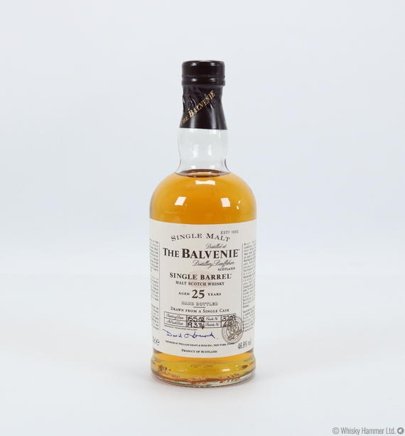 Balvenie 15 Year Old Single Barrel Sherry Cask Whisky - Master of Malt