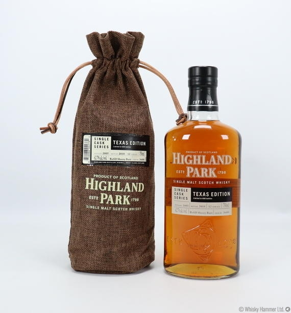 Highland Park - 12 Year Old (Single Cask Series) #3600 Texas Edition