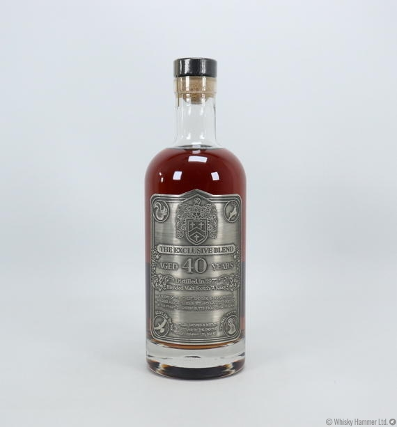 Creative Whisky Co - 40 Year Old (1977) The Exclusive Blend - US Import 75cl