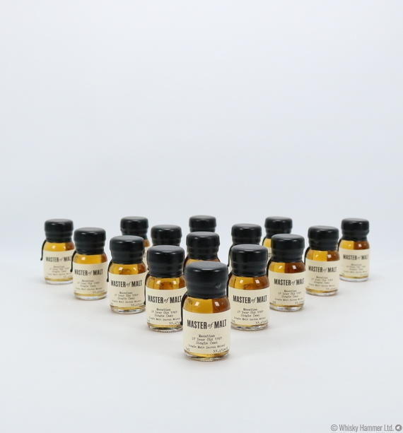 Macallan - 29 Year Old (1989) Master of Malt 15 x 3cl miniatures