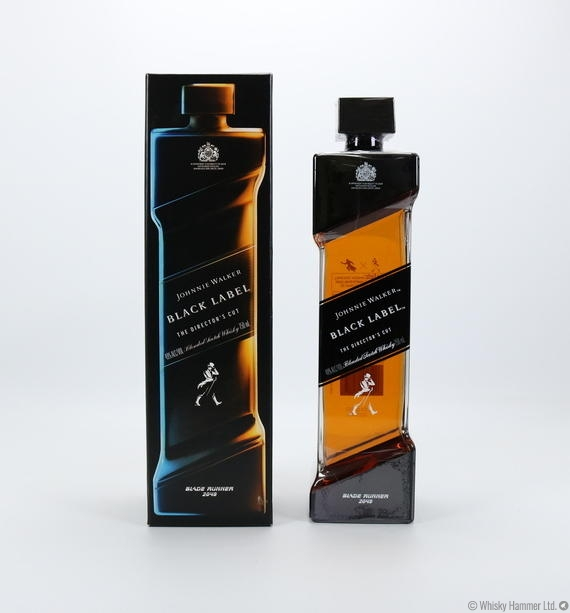 Johnnie Walker - Black Label (The Director's Cut, Blade Runner - 2049) US Import - 75cl