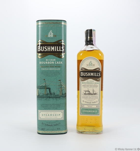 Bushmills - #3 Char Bourbon Cask (Steamship Collection) - 1 Litre