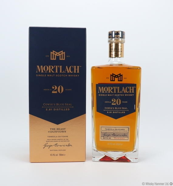 Mortlach - 20 Year Old (Cowie's Blue Seal)