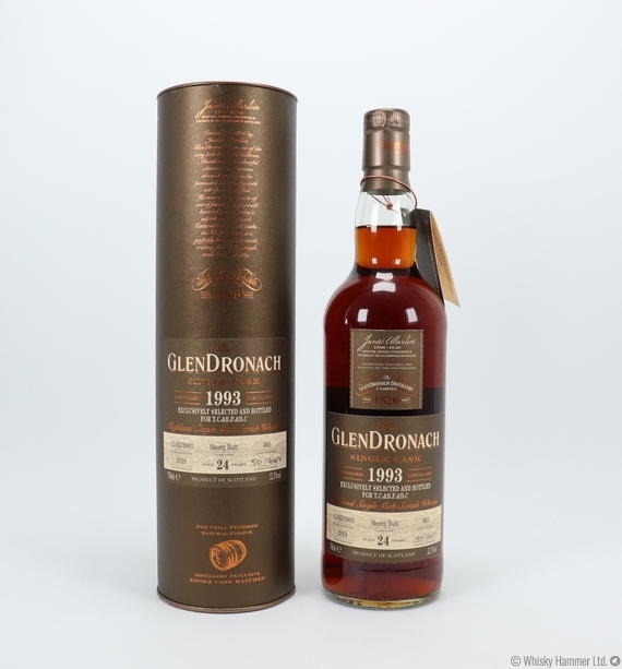 Glendronach - 24 Year Old (1993) Single Cask #403