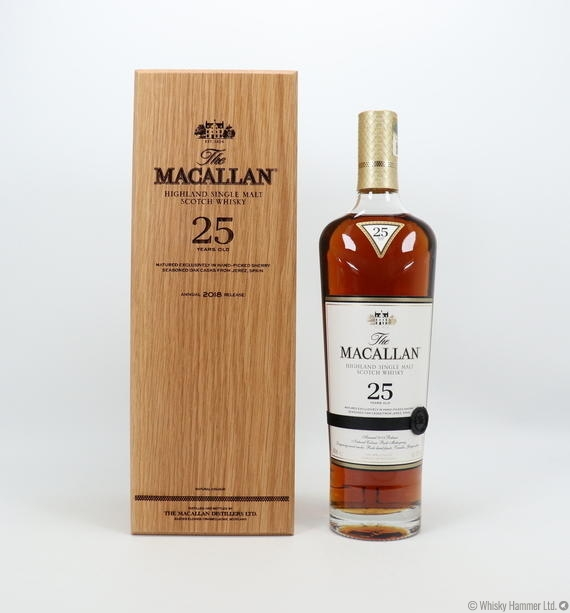 Macallan - 25 Year Old (2018) Sherry Oak