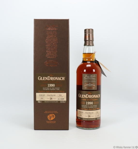 Glendronach - 28 Year Old (1990) Single Cask #2623