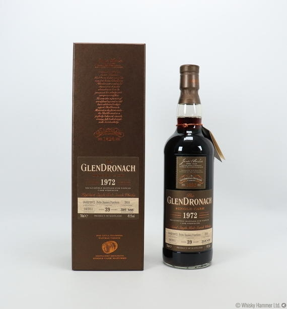 Glendronach - 39 Year Old (1972) Single Cask #2033