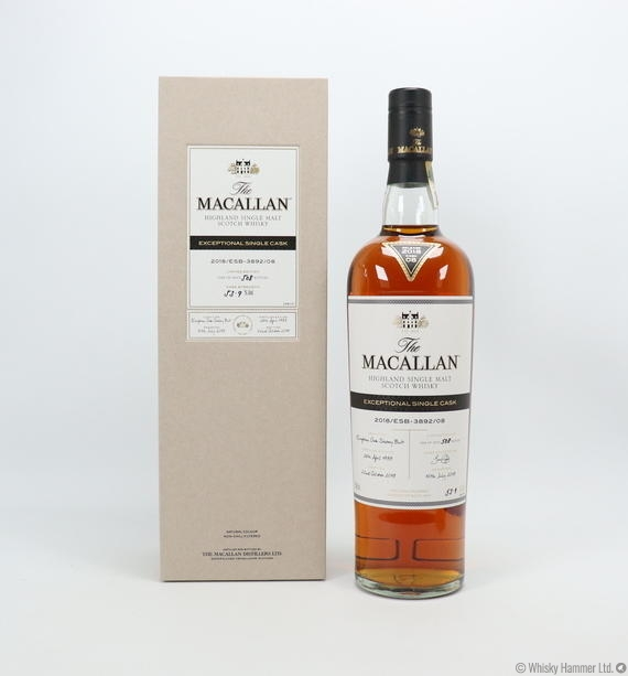 Macallan - 1988 Exceptional Single Cask (#3892-08, 2018)