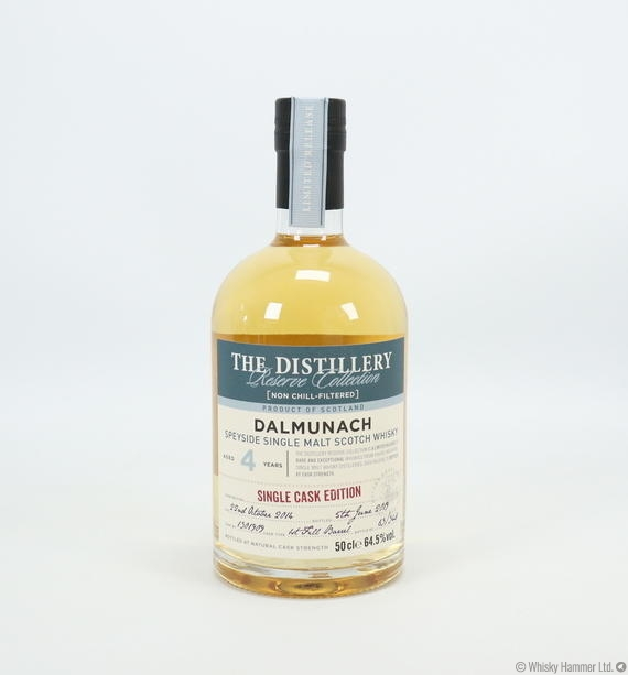 Dalmunach - 4 Year Old (Single Cask Edition) Distillery Reserve Collection (50cl)