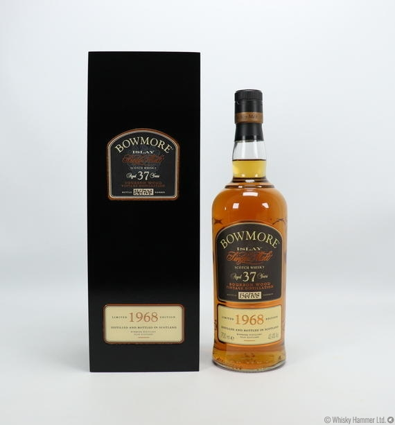 Bowmore - 37 Year Old (1968) Bourbon Wood Vintage