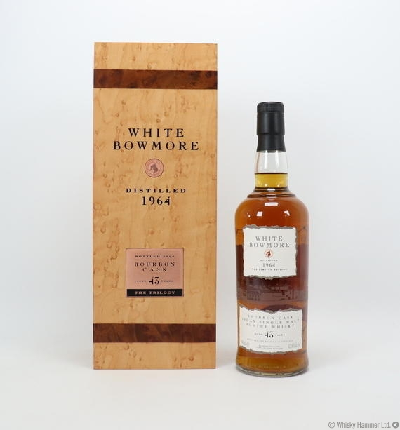 Bowmore - 43 Year Old ('White Bowmore') 1964