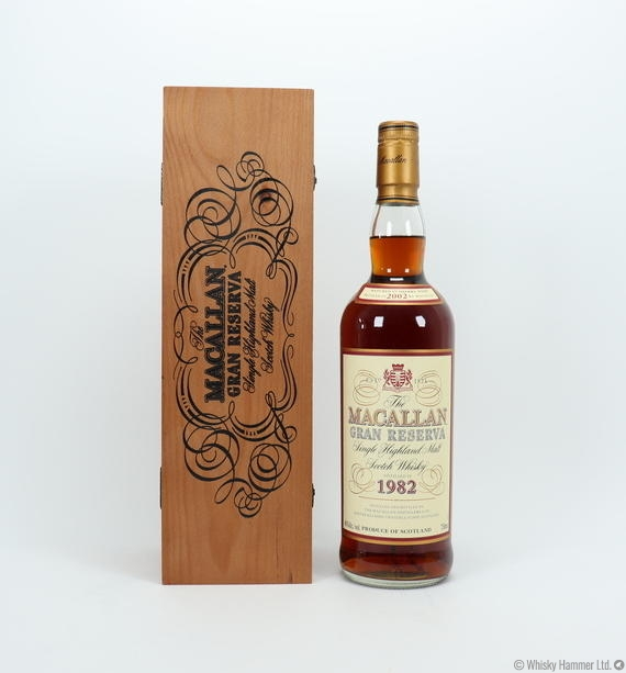 Macallan - 18 Year Old (1982 Gran Reserva) US Import (75cl)