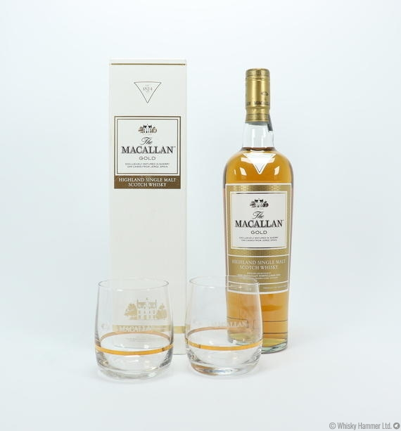 Macallan - Gold (1824 Series) + 2 glasses