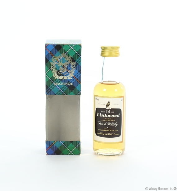 Linkwood - 15 Year Old (Gordon and MacPhail) 5cl