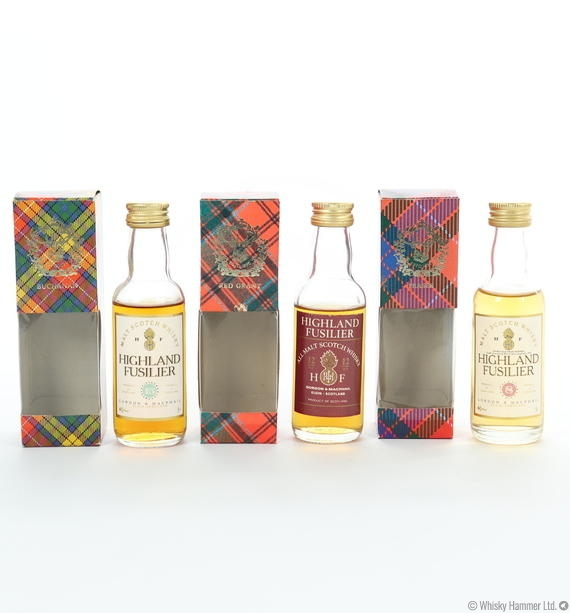 Highland Fusilier - Gordon and MacPhail (3 x 5cl)