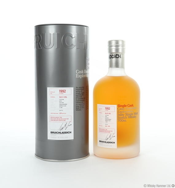 Bruichladdich - 23 Year Old (1992) Micro-Provenance Single Cask