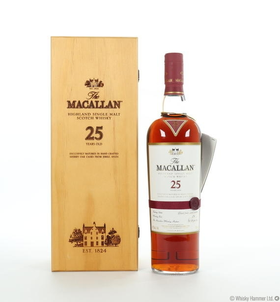 Macallan - 25 Year Old (Sherry Oak) US Import 75cl