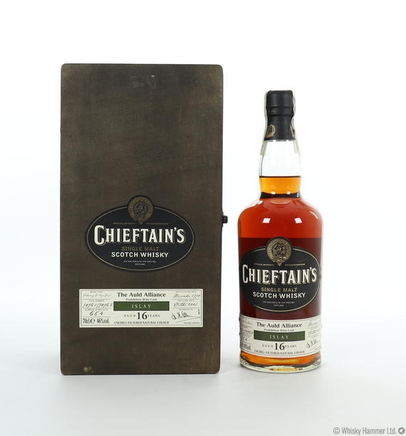 Chieftains - 16 Year Old ('Islay' Prohibition Wine Cask) The Auld Alliance)