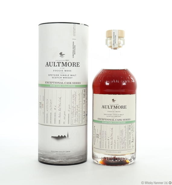 Aultmore - 22 Year Old (Exceptional Cask Series) Wine Cask Collection (Italian Red)