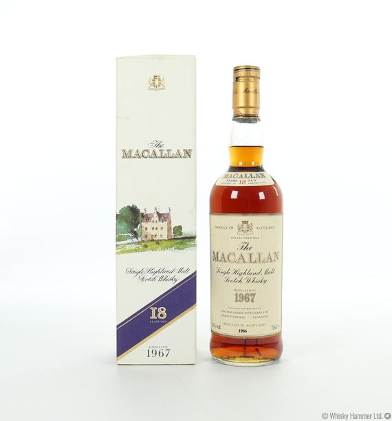 Macallan - 18 Year Old (1967) 75cl