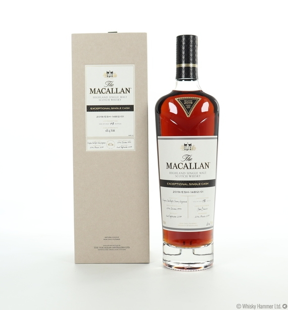 Macallan - 1997 Exceptional Single Cask (#14812-01, 2019)