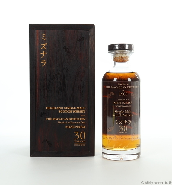 Macallan - 30 Year Old (1988) Mizunara