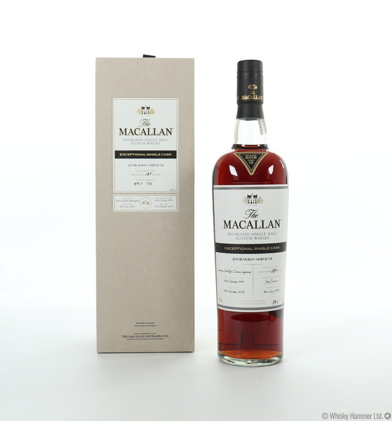 Macallan - 1997 Exceptional Single Cask (#14813-12, 2018)