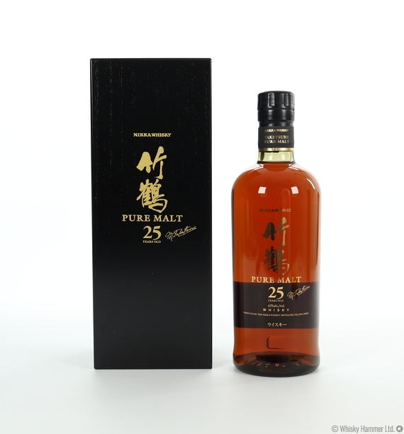 Nikka - 25 Year Old (Pure Malt) Taketsuru