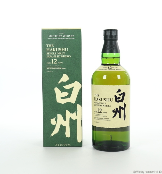 Hakushu - 12 Year Old (2018 Bottling)