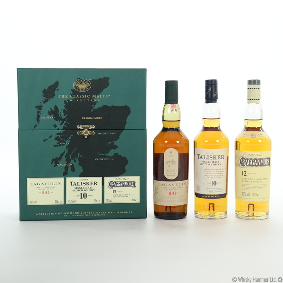 Classic Malts Collection - Lagavulin, Talisker & Cragganmore (3 x 20cl)