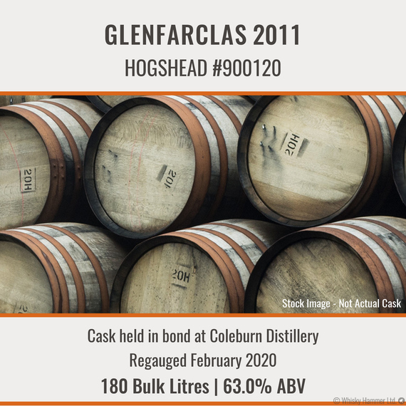 Glenfarclas - 2011 Hogshead #900120 | Held In Bond