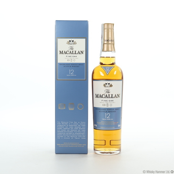 Macallan - 12 Year Old (Fine Oak) 50cl
