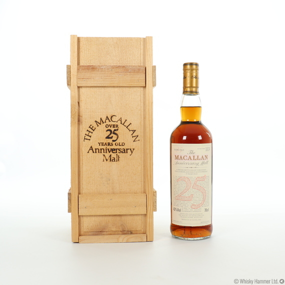 Macallan - 25 Year Old (1971) Anniversary Malt