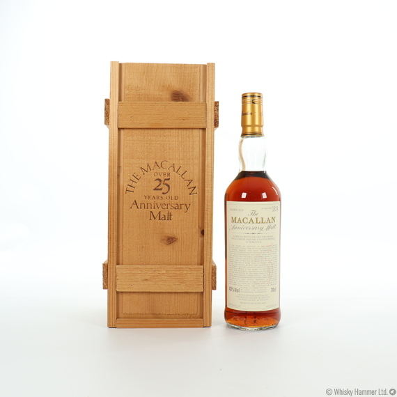 Macallan - 25 Year Old (1967) Anniversary Malt