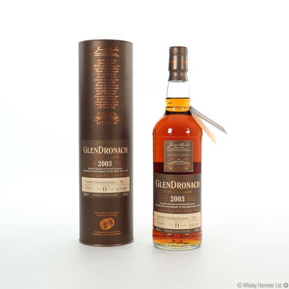 Glendronach - 11 Year Old (2003) Single Cask #5691 (Green Welly Stop)