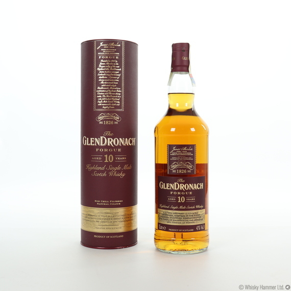 Glendronach - 10 Year Old (Forgue) Travel Exclusive (1 Litre)