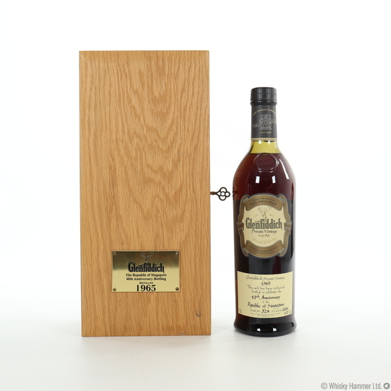 Glenfiddich - 1965 (Private Vintage) 40th Anniversary of the Republic of Singapore