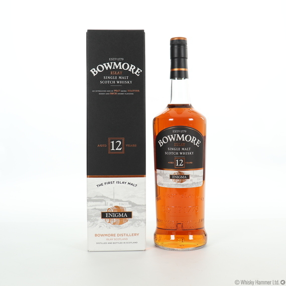 Bowmore - 12 Year Old (Enigma) 1 Litre