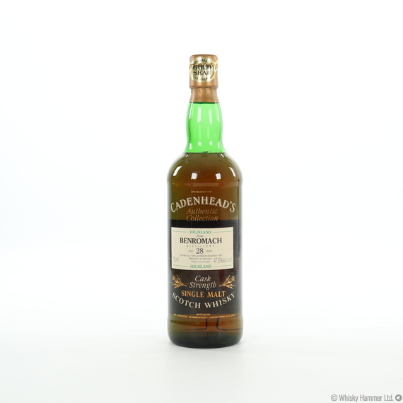 Benromach - 28 Year Old (1965) Cadenhead's Gold Seal (75cl)