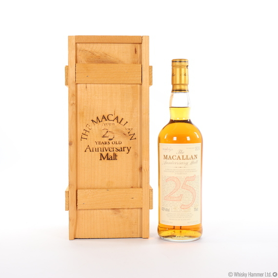 Macallan - 25 Year Old (1965) Anniversary Malt (75cl)