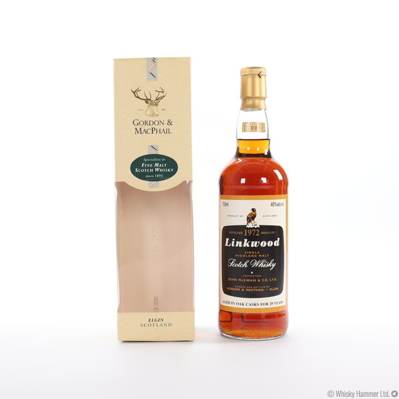 Linkwood - 29 Year Old (1972) Gordon & MacPhail (75cl)
