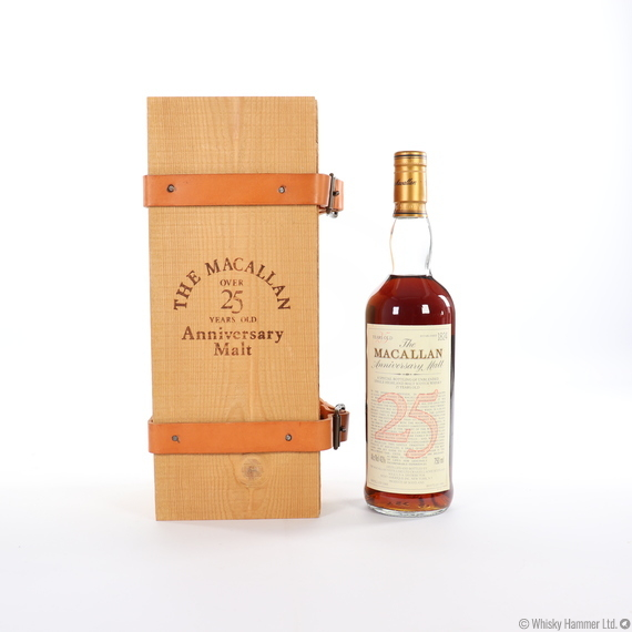 Macallan - 25 Year Old (1969) Anniversary Malt (75cl)