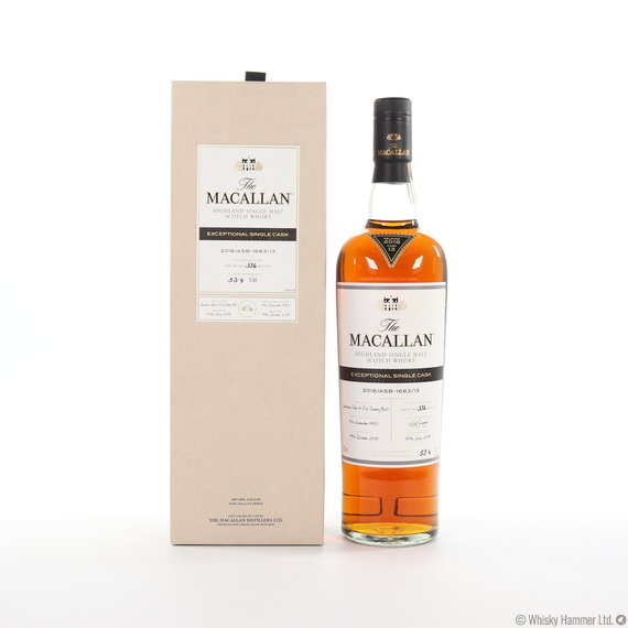 Macallan - 1950 Exceptional Single Cask (#1683-13, 2018)